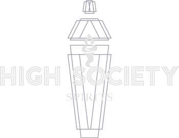 High Society Spirits Light Logo